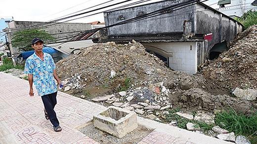 Một căn nhà bỏ hoang trên đường Phạm Văn Đồng, quận Thủ Đức, TP.HCM