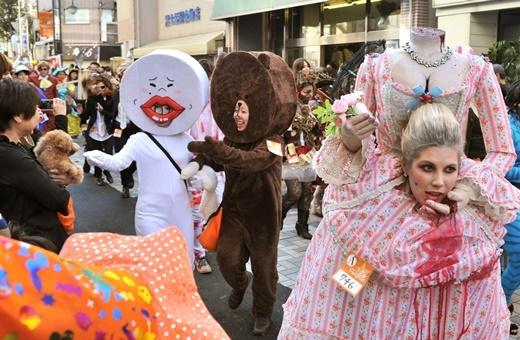 Giật mình với lễ hội Halloween Nhật Bản