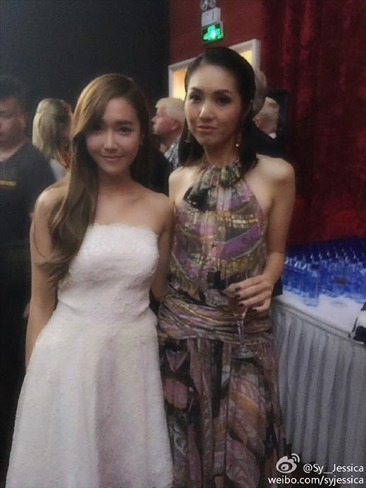 Jessica và 'thiên hậu Hong Kong' - Dương Thiên Hoa
