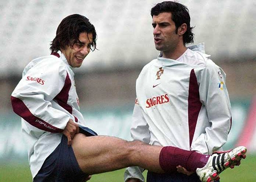 Rui Costa và Luis Figo từng nổi lên từ giải U20 thế giới