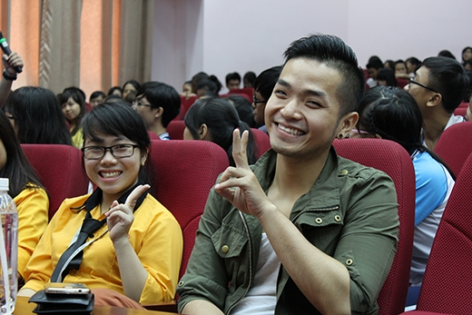 Phạm Hồng Phước xuất hiện với tư cách khách mời tham gia chương trình