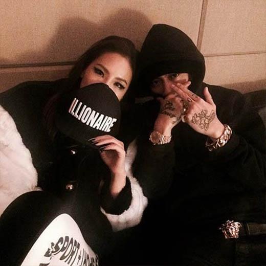 CL tiếp tụckhoe hình cùng DJ Diplo