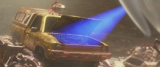Chiếc xe tải này cũng xuất hiện trong phim Wall-E của Pixar