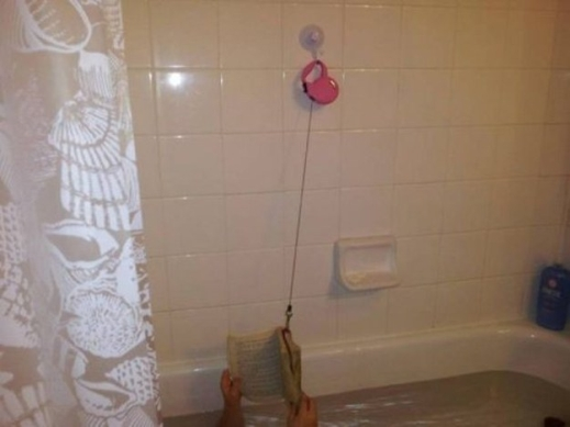 Tận dụng thời gian lúc ngâm bồn tắm