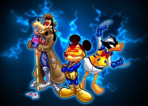 Khi các nhân vật Disney hóa siêu anh hùng của Marvel