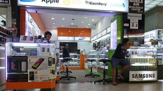 Cửa hàng Mobile Air ở Sim Lim Square, Singapore