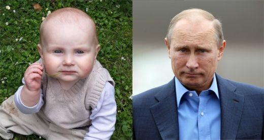 Đây là ảnh của đứa con trai của Redditor Prizman và nhìn xem, cậu bé trông có giống tổng thống Vladimir Putin không?