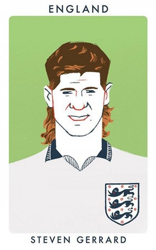 Thủ quân Steven Gerrard (Liverpool)