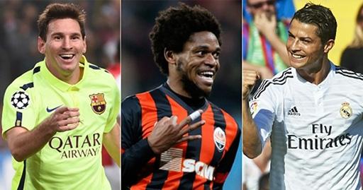 Luiz Adriano vượt mặt Ronaldo lẫn Messi về bàn thắng tại Champions League
