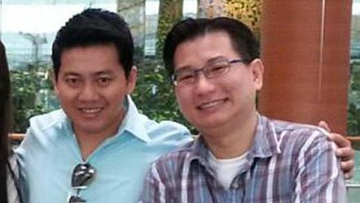 Anh Phạm Văn Thoại và ông Gabriel Kang