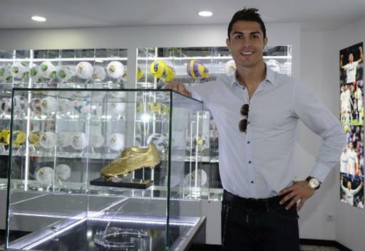 Thành công trên sân cỏ mang lại thu nhập khổng lồ cho Ronaldo. Ảnh: EFE.