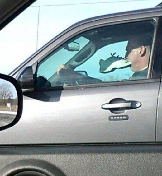 Thêm chút thử thách cho việc lái xe...