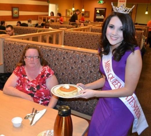 Tôi không quan tâm tới hoa hậu, tôi chỉ quan tâm tới dĩa bánh của mình...