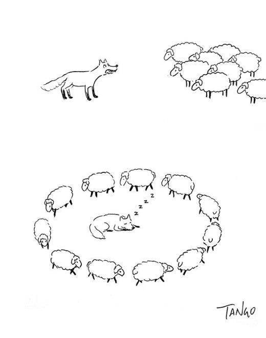 Thú vị những hình vẽ đơn giản mà sáng tạo