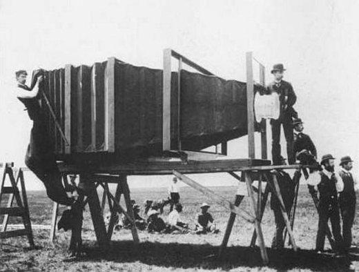 Chiếc ống kính chụp hình tầm xa đầu tiên trên thế giới