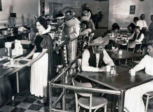 Căn-tin của nhân viên công ty Disney năm 1961