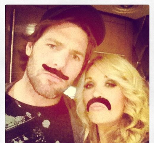 Cặp đôi nghịch ngợm Carrie Underwood và Mike Fisher