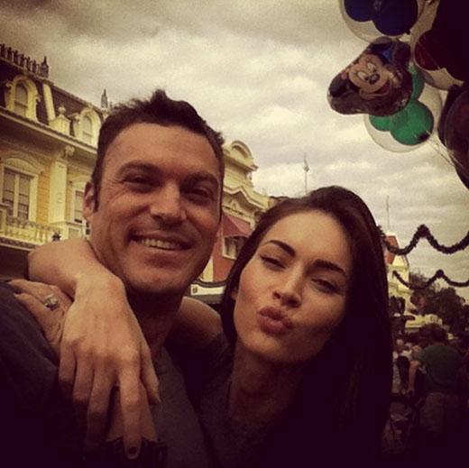Megan Fox và Brian Austin Green luôn dành thời gian để đi chơi cùng nhau