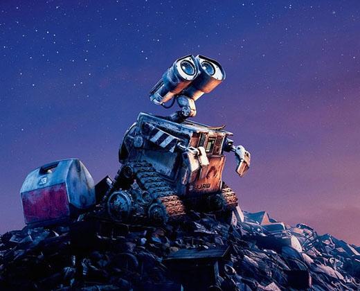 Hay Wall-e đáng yêu trong bộ phim Wall-e