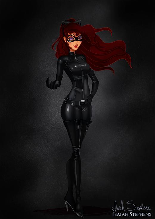 Ai biết được cô nàng người yêu Megara của Hercules lại có nghề tay trái là trở thành Catwoman