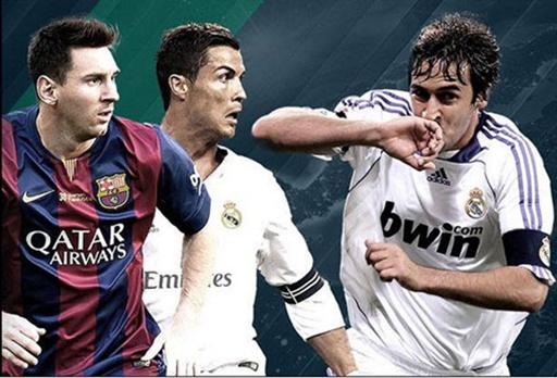 Ronaldo kém Raul và Messi 1 bàn tại Champions League