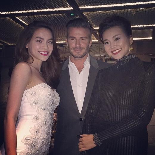 Đôi bạn thân đình đám của showbiz Việt vô cùng hạnh phúc khi được sánh đôi cùng David Beckham - Tin sao Viet - Tin tuc sao Viet - Scandal sao Viet - Tin tuc cua Sao - Tin cua Sao