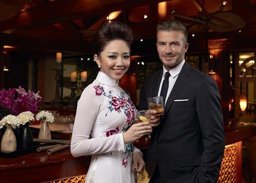 Beckham sang Việt Nam lần này để quảng bá sản phẩm riêng