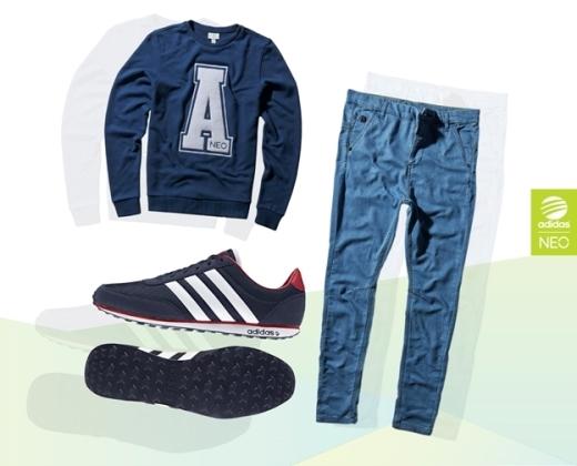 Mách con trai cách diện đồ theo cá tính riêng cùng Adidas NEO