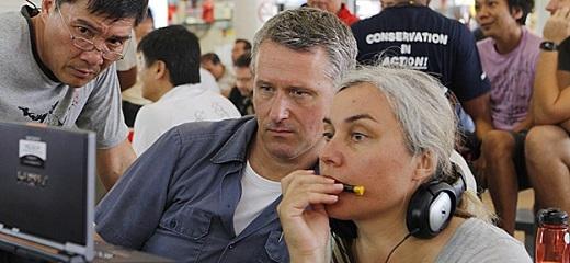 Ông Joe Lawlor và vợ - Christine Molloy