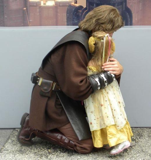 Công chúa Leia trong Star Wars trở nên cực đáng yêu