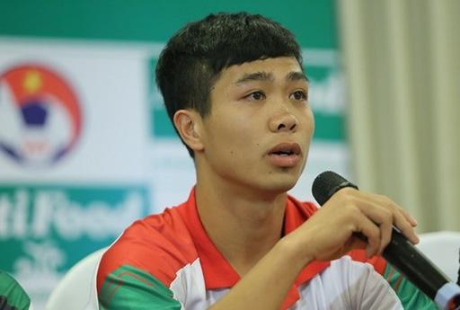 Công Phượng đang là cầu thủ sáng giá nhất của bóng đá Việt Nam hiện nay
