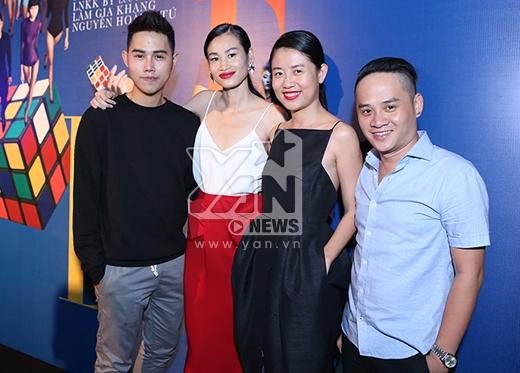 Khá đông người mẫu, bạn bè và những tín đồ thời trang đã đến tham dự sự kiện Elle Fashion Show 2015. - Tin sao Viet - Tin tuc sao Viet - Scandal sao Viet - Tin tuc cua Sao - Tin cua Sao
