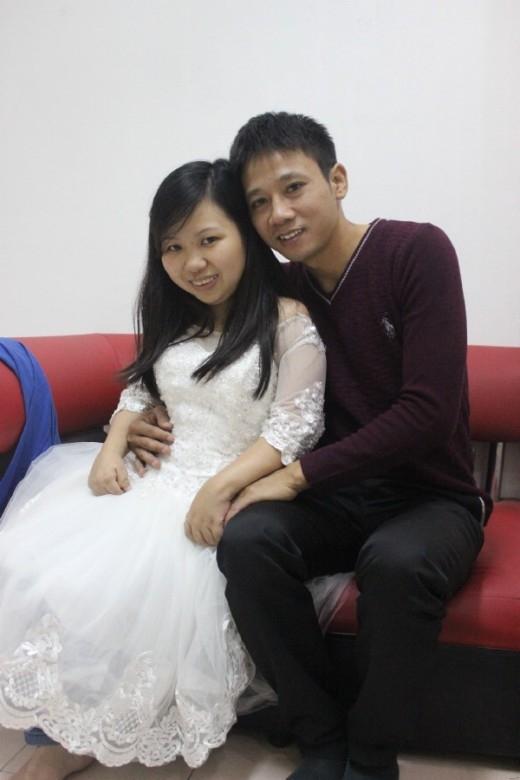 Tháng 11 Âm lịch sắp tới hai người sẽ tổ chức đám cưới.