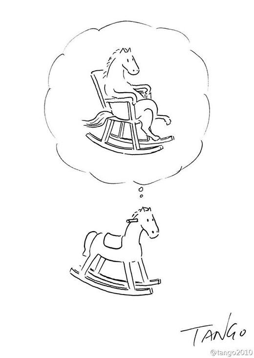 Ước mơ ngựa gỗ, có ai biết?