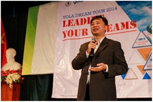 Anh Trịnh Hoài Giang - Phó Giám đốc Công ty Chứng khoán Tp. HCM (HSC)