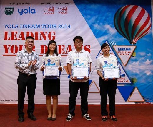 YOLA trao học bổng toàn phần cho Thủ khoa trường