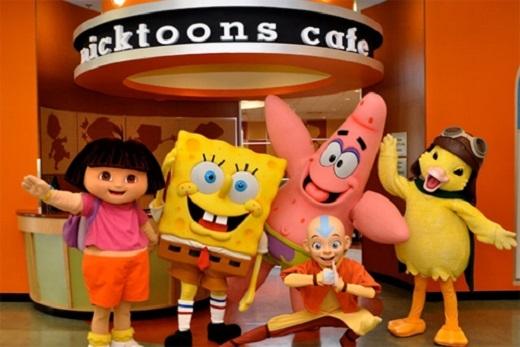 Khu nghỉ dưỡng Nickelodeon Suites nằm ở Orlando, Florida, Mỹ