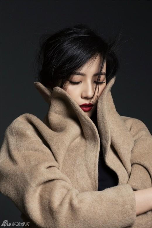 Ngắm gu thời trang tinh tế của Cao Viên Viên trên tạp chí số mới nhất.