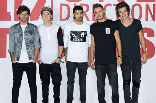 Tham dự cuộc họp báo cho One Direction This Is Usvào 19/8/2013 tại London.