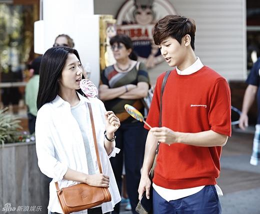 Mặc dù giữa Min Hyuk và Park Shin Hye không xảy ra tình cảm trai gái trong phim, nhưng đôi bạn thân này cũng khiến các fan thích thú với những khoảnh khắc vô cùng đáng yêu.