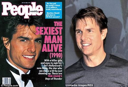 Trông Tom vào năm 1990 không hề khác với bây giờ là mấy.