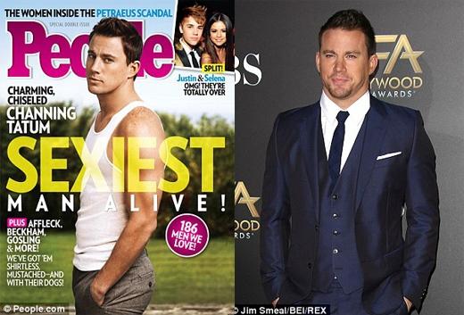 Vai diễn trong bộ phim Magic Mike đã khiến Channing Tatum nhận được danh hiệu Người đàn ông quyến rũ nhất hành tinh vào năm 2012