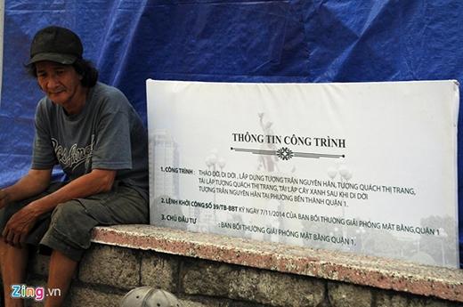 Sau khi thi công hoàn thành, tượng đài sẽ được đưa về đặp tại công viên Phú Lâm (quận 6).