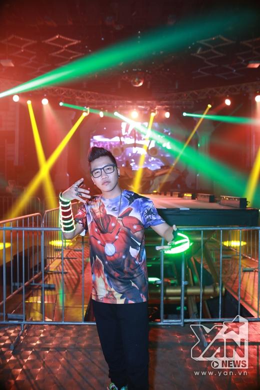 Hoàng Rapper đảm nhận vai trò dẫn dắt Electric Cosmic Ride