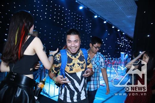 DJ Wang Trần cũng có mặt tại sự kiện lần này của Electric