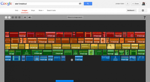 """10. Thanh tìm kiếm của Google ẩn chứa rất nhiều tính năng bí mật. Ví dụ như khi gõ một phương trình vào ô tìm kiếm, hệ thống sẽ tự động giải nó cho bạn. Hoặc khi gõ tên hai loại thực phẩm theo cú pháp 'thực phẩm 1 vs thực phẩm 2', Google sẽ so sánh giá trị dinh dưỡng của chúng, ví dụ 'apple vs watermelon' để so sánh táo với dưa hấu. Bên cạnh đó, khá nhiều hiệu ứng và trò chơi độc đáo cũng sẽ xuất hiện khi bạn gõ vào thanh tìm kiếm những từ khóa nhất định, ví dụ như """"do a barrel roll"""" để xoay vòng màn hình hay 'tilt' để nghiêng màn hình đi một góc..."""