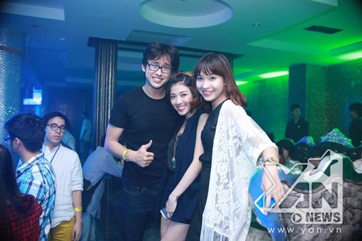 Quang Bảo cùng Yumi Dương và Kim Nhã
