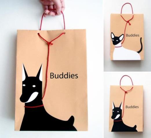 Đi mua sắm là phải dắt theo thú cưng mới oách. Nếu chưa có thú cưng thì hãy xài đỡ cái này...