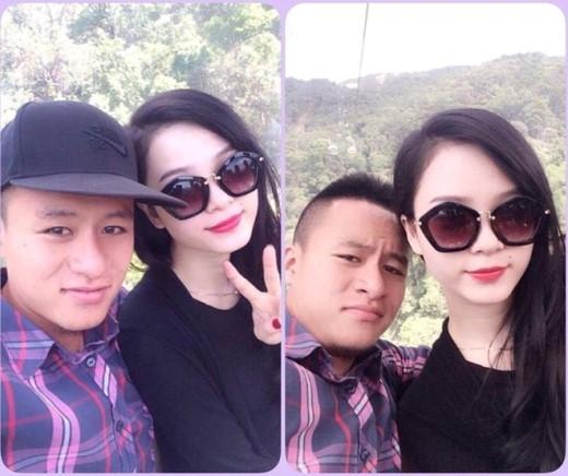 Tân binh Huy Toàn của đội tuyển Việt Nam khiến nhiều người phải ghen tị vì nhan sắc đằm thắm của người bạn gái Bảo Trân.