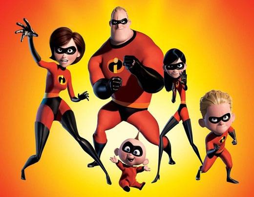 Theo như bản gốc thì Gia đình siêu nhân Incredibles được đặt tên là The Invincibles.
